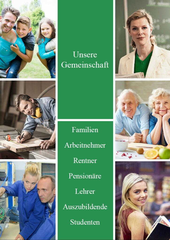 Das Bild zeigt den Lohnsteuerhilfeverein Merseburg Zentrum die Gemeinschaft.